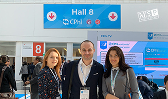 The representatives of Mikhailyuk, Sorokolat and Partners participate in CPhI Worldwide 2019