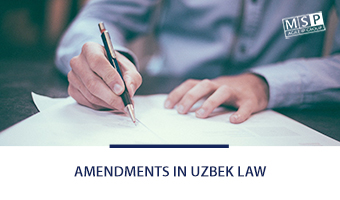 Amendments in Uzbek Intellectual Property Law